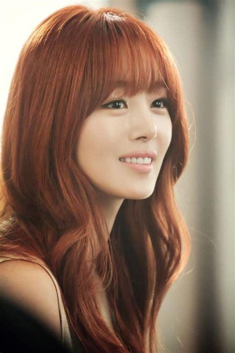 latest korean hairstyles  bangs