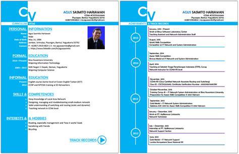 Contoh Cv Yang Lengkap Dalam Bahasa Inggris by Contoh Curriculum Vitae Dalam Bahasa Inggris Cv Nabila