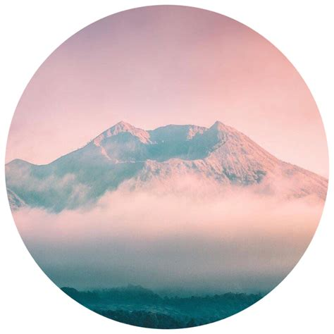 mountain forest pink aesthetic tumblr iphone japan blue