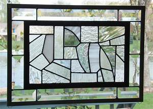 Stained Glass Window Panels. Webbed Heart Tiffany Style ...