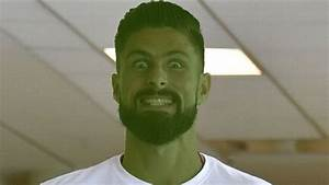 Chelsea striker Olivier Giroud stars as Green Goblin in ...