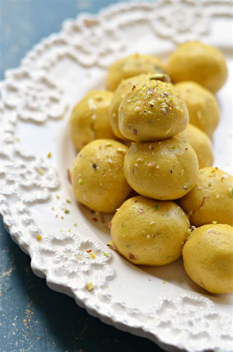 Besan Laddoo  Easy Indian Sweets Recipe  The Veggie Indian