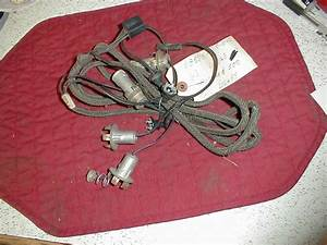 Nos Mopar Tail Light Wiring Harness 1968 Dodge Polara