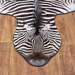 African Zebra Rug Mount #12333 - The Taxidermy Store