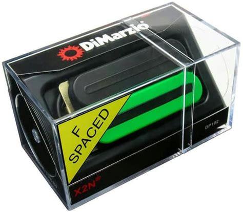 dimarzio dp102 x2n humbucker guitar pickup black green reverb