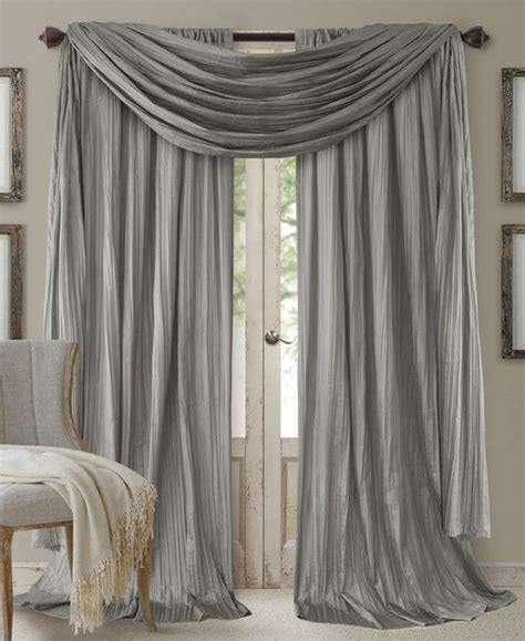 scarf valance curtain panels  valances  pinterest