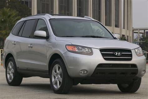 Used 2012 Hyundai Santa Fe by 2007 2012 Hyundai Santa Fe Used Car Review Autotrader