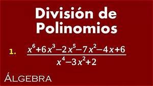Divisi U00f3n De Polinomios 1 - Ejercicios De  U00c1lgebra
