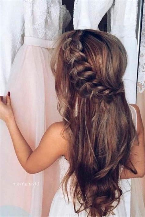 20 best collection of long hairstyles bridesmaids