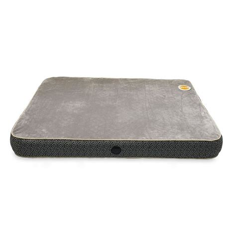 orthopedic pet beds k h pet superior orthopedic bed grey