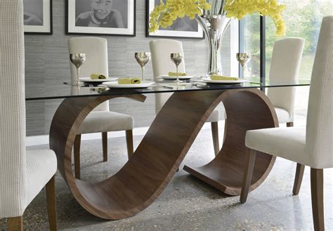Tom Schneider Swirl Dining Table   Dining tables