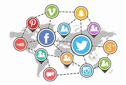 Social Marketing Platforms Business Graphics Seo Businesses