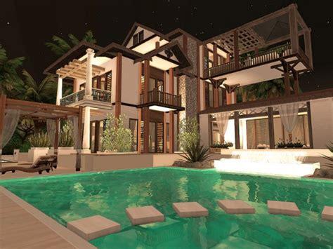 The Sims Resource: Sulani Beach Villa - No CC by Sarina ...