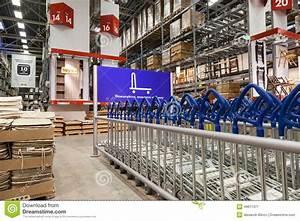 Interior Of The IKEA Samara Store. Editorial Photo - Image ...