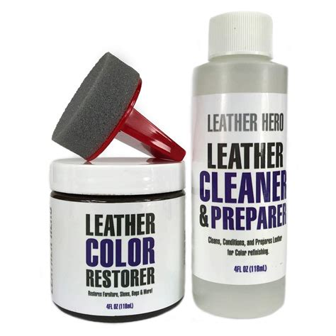Brown sofas from leather sofa world. Amazon.com: Leather Hero Leather Color Restorer Repair Kit ...