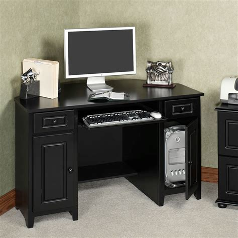 small black corner desk auston black corner desk