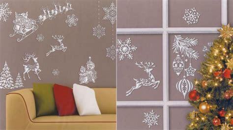 Fensterdeko Weihnachten Baumschmuck