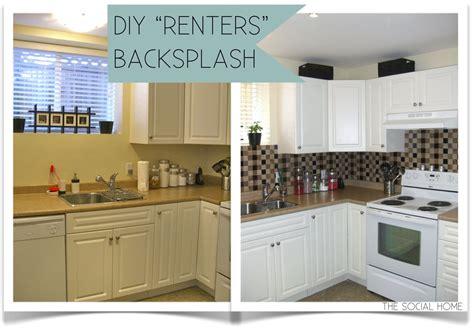 cheap kitchen backsplash panels cheap solution to glass tile the social home diy