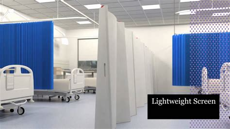 design for patient dignity lightweight screen and