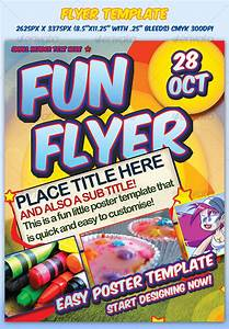 fun flyer template by sevenstyles graphicriver With fun day poster template