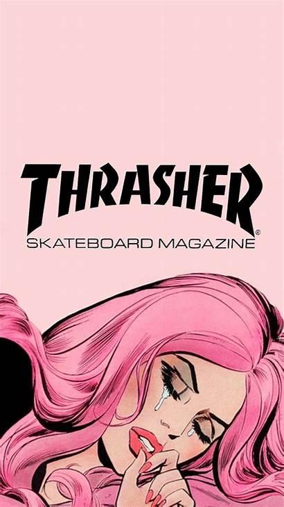 Thrasher Wallpapers Interesting Magazine Aesthetic Backgrounds Koleksi