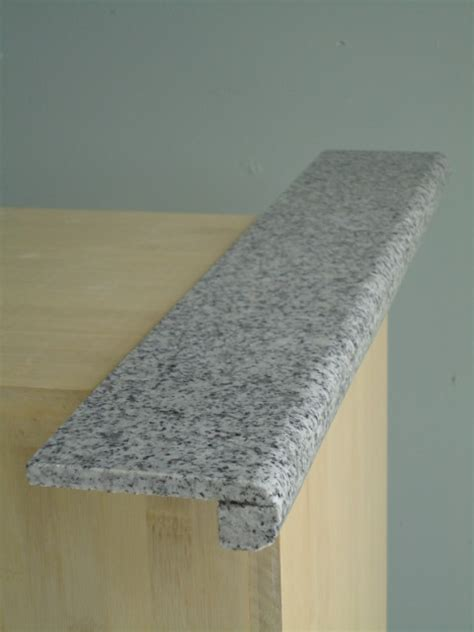 lazy granite imperial white bullnose traditional
