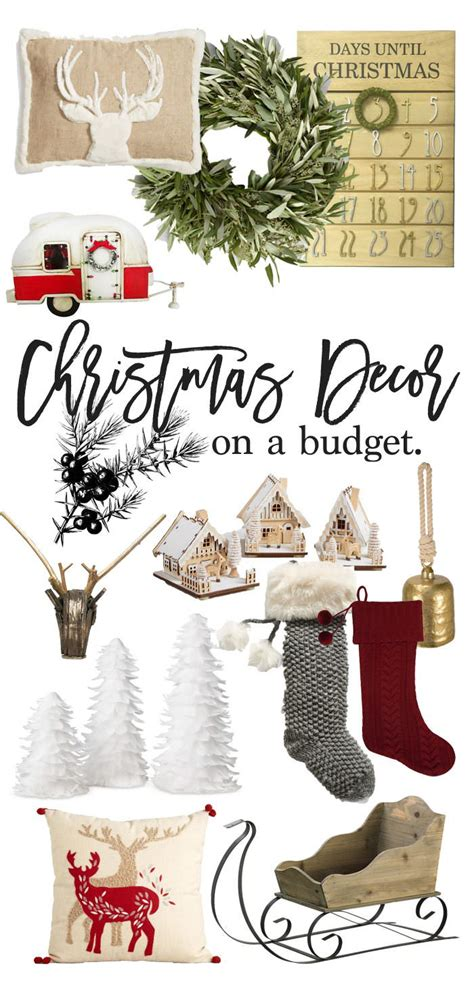 christmas decor on a budget lynzy co