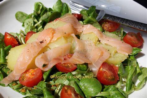 salade de pommes de terre ti 232 de au saumon fum 233 recettes
