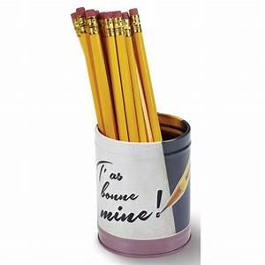 Pot A Crayon : pot crayons bonne mine natives d co r tro vintage humoristique provence ar mes tendance sud ~ Teatrodelosmanantiales.com Idées de Décoration