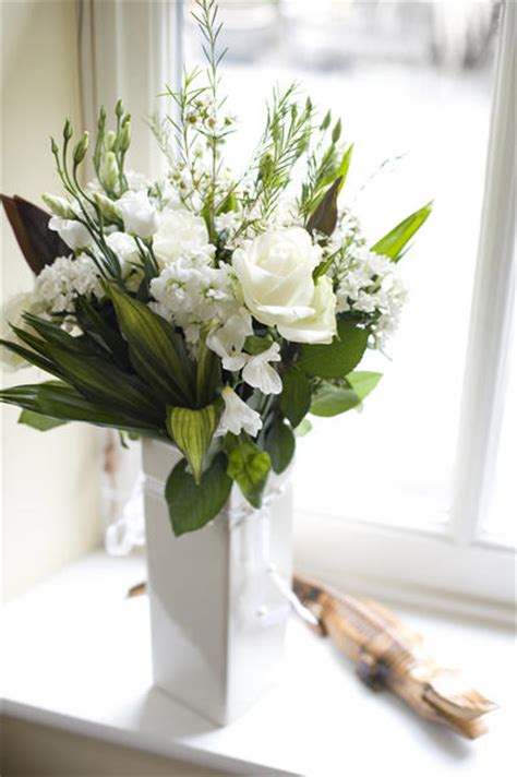 Window Sill Images by Bouquet Of White Flowers On Window Sill 9095
