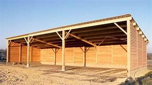 Hangar En Kit Bois : charpente bois hangar obtenez des id es de ~ Premium-room.com Idées de Décoration