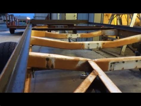 Turn A Boat Trailer Into A Utility Trailer by Boat Trailer To Utility Conversion Part 4 Doovi