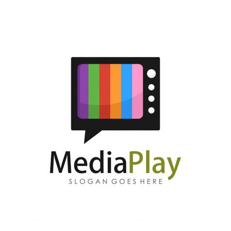 Tv Vector Template by Creative Media Television Logo Design Template Vector
