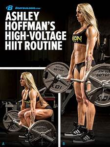 ASHLEY HOFFMANN'S HIGH-VOLTAGE HIIT ROUTINE! Learn how to ...