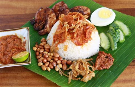 loca cuisine nasi lemak one of the most loved local food in malaysia
