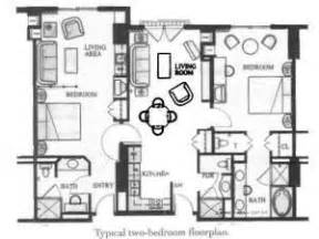marriott grand chateau 2 bedroom villa floor plan With marriott grande vista 3 bedroom floor plan