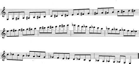 b flat clarinet range range chromatic scale on trumpet
