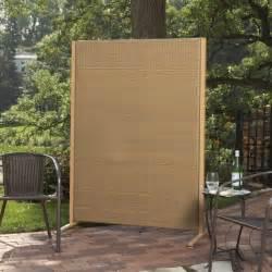decorative wooden outdoor privacy screen designs