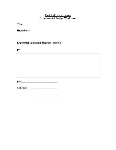 14 Best Images Of Experimental Design Worksheet Answer Key  Mitosis Versus Meiosis Worksheet