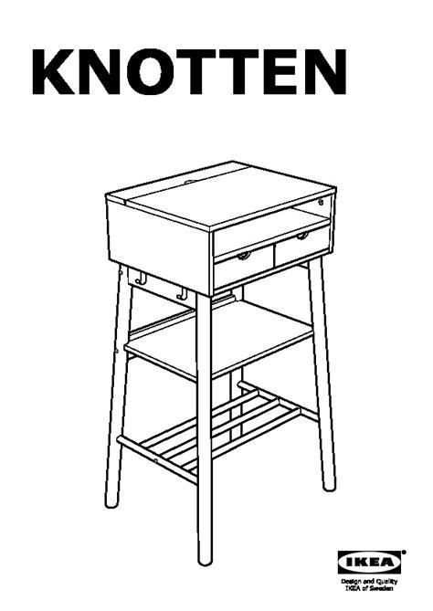bureau position debout knotten bureau debout blanc bouleau ikea ikeapedia