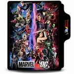 Icon Dc Marvel Folder Deviantart Deviant