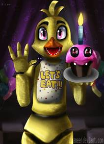 Chica From Freddy's Nights at Five