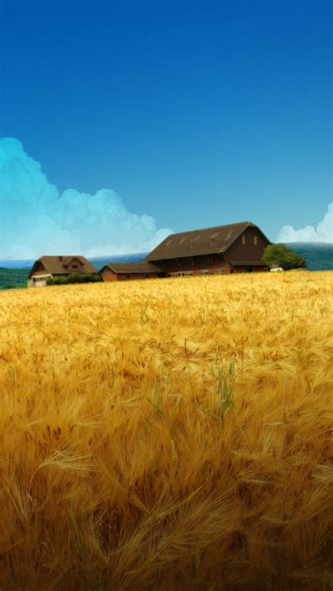 Lg G5 Animated Wallpaper - farm scenery lg g4 g5 wallpapers hd 1440x2560