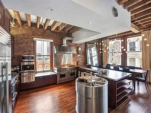 Décoration Appartement Moderne : la deco loft new yorkais en 65 images ~ Nature-et-papiers.com Idées de Décoration