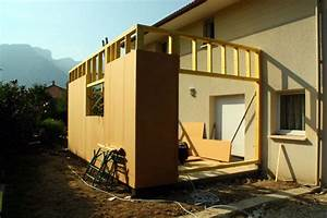 extension bois With plan maison en pente 17 nos realisations dextensions de maison ossature bois
