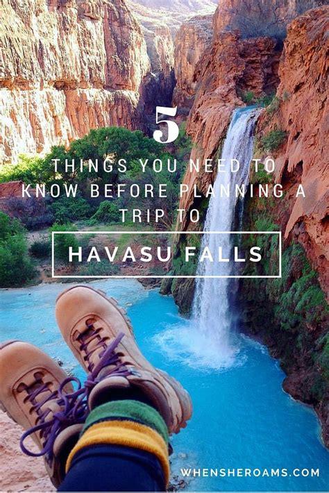 77 Best Havasupai Falls Az Veteran Hiker With Maps Images