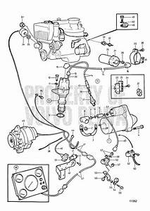 Volvo Penta Exploded View    Schematic Electrical System And Instrument  C 230b