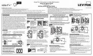 Leviton Vrf01 1 Lz Product Manual And Setup Guide