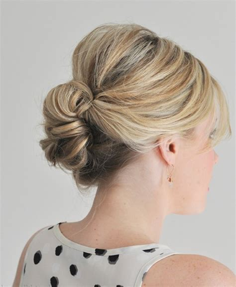 simple  easy hair updos  popular haircuts