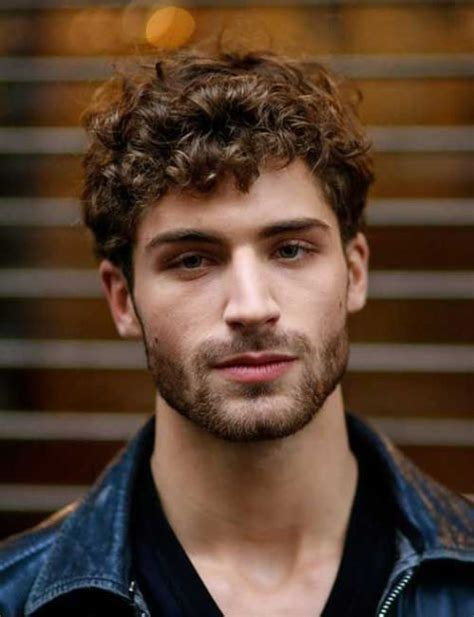 beautiful haircuts  men  curly
